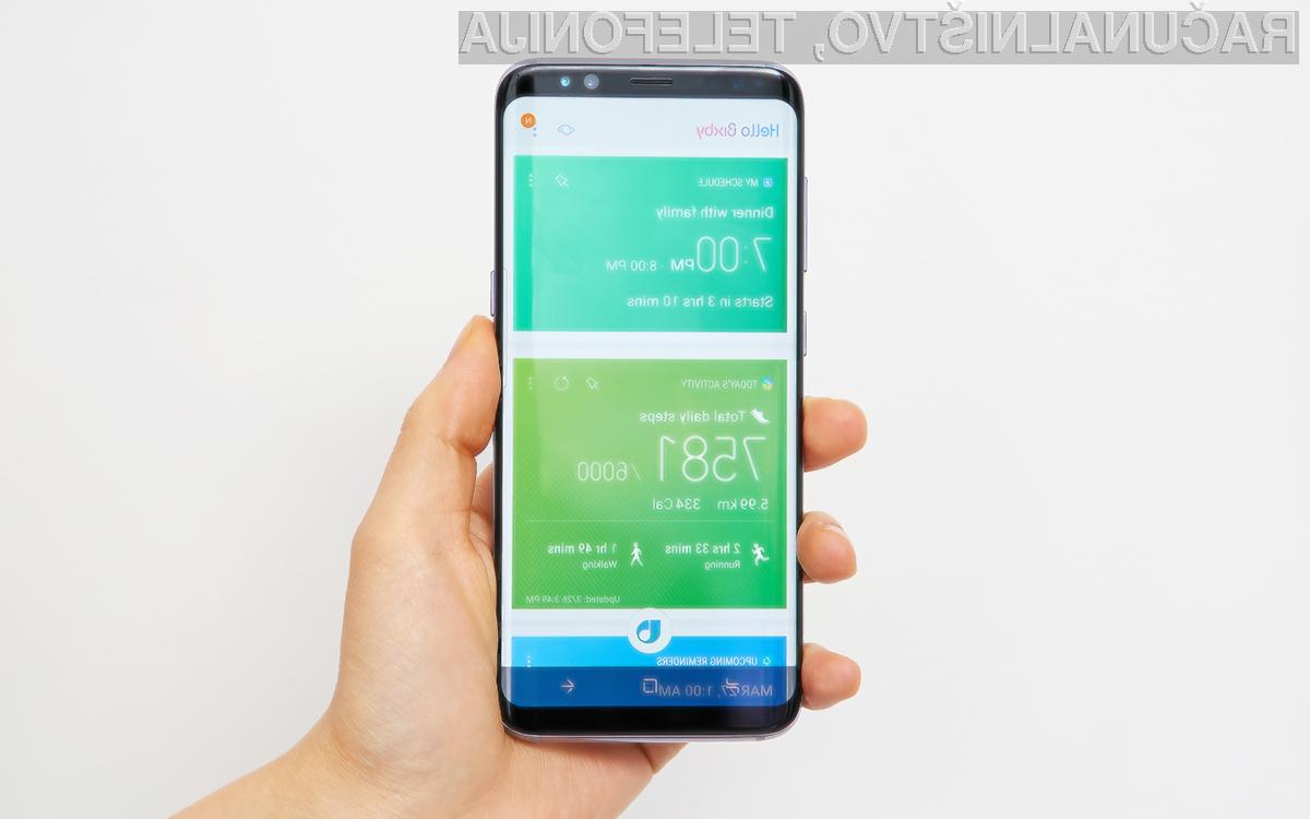 Bixby prinaša izboljšano produktivnost in personalizacijo pametnega mobilnega telefona Samsung.