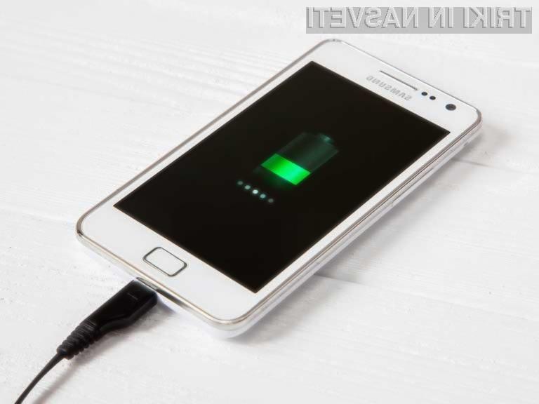 S pravilnim polnjenjem nam bo baterija telefona zagotovo dobro služila dolgo časa.