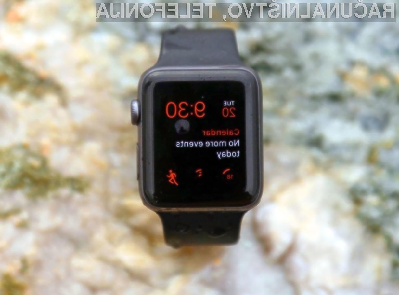 Nova pametna ročna ura Apple Watch za delovanje ne bo potrebovala telefona iPhone.
