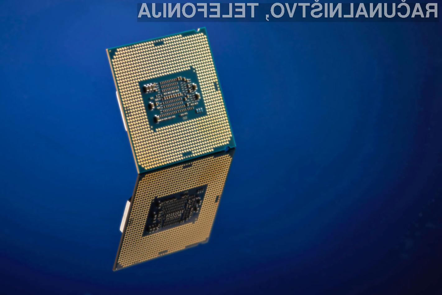Na nove procesorje podjetja Intel Ice Lake bo žal treba počakati do leta 2019.