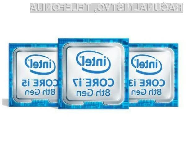 Tu je osma generacija procesorjev Intel Core U