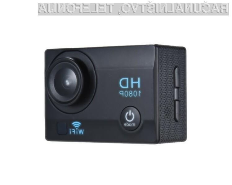 Športna kamera WiFi Action Sports Camera je lahko vaša že za 14 evrov!