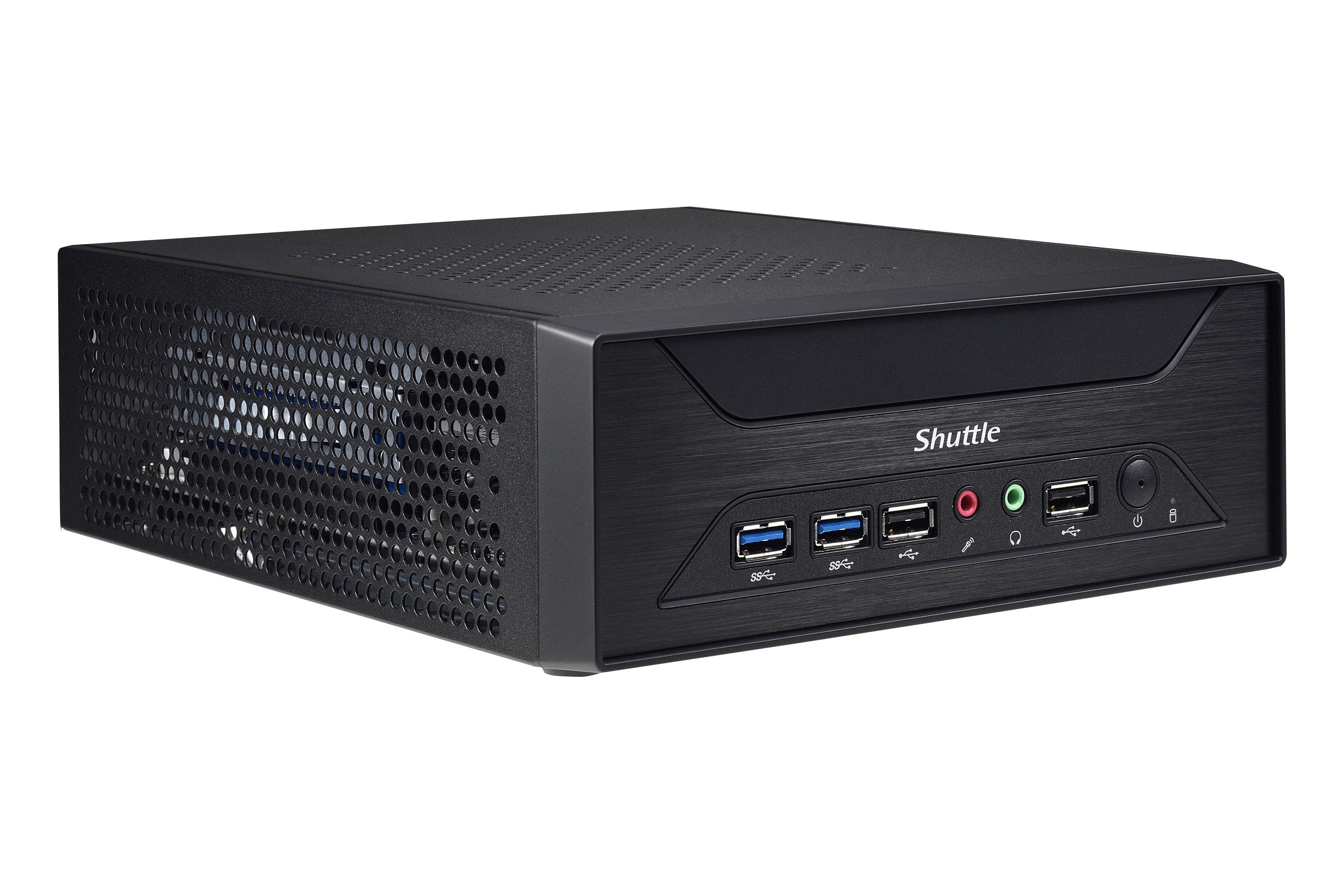 Kompaktni računalnik Shuttle XPC XH110G lahko uporabljamo celo za igranje najzahtevnejših iger!