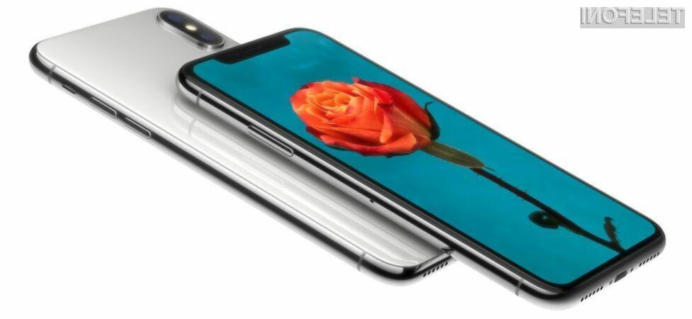 Apple bo s prodajo telefona iPhone X nedvomno zaslužil veliko!