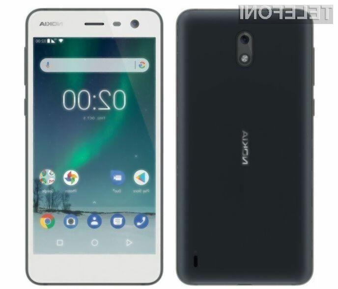 Pametni mobilni telefon Nokia 2 naj bi za malo denarja ponujal veliko!