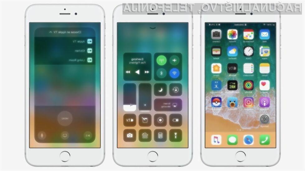 Če imate nameščen iOS 11 bo avtonomija delovanja vaše mobilne naprave precej krajša kot z iOS 10!