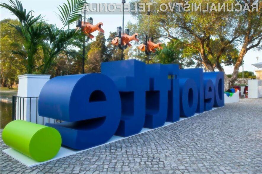 Skrbniški račun v podjetju Deloitte je bil zaščiten le z uporabniškim imenom in geslom.
