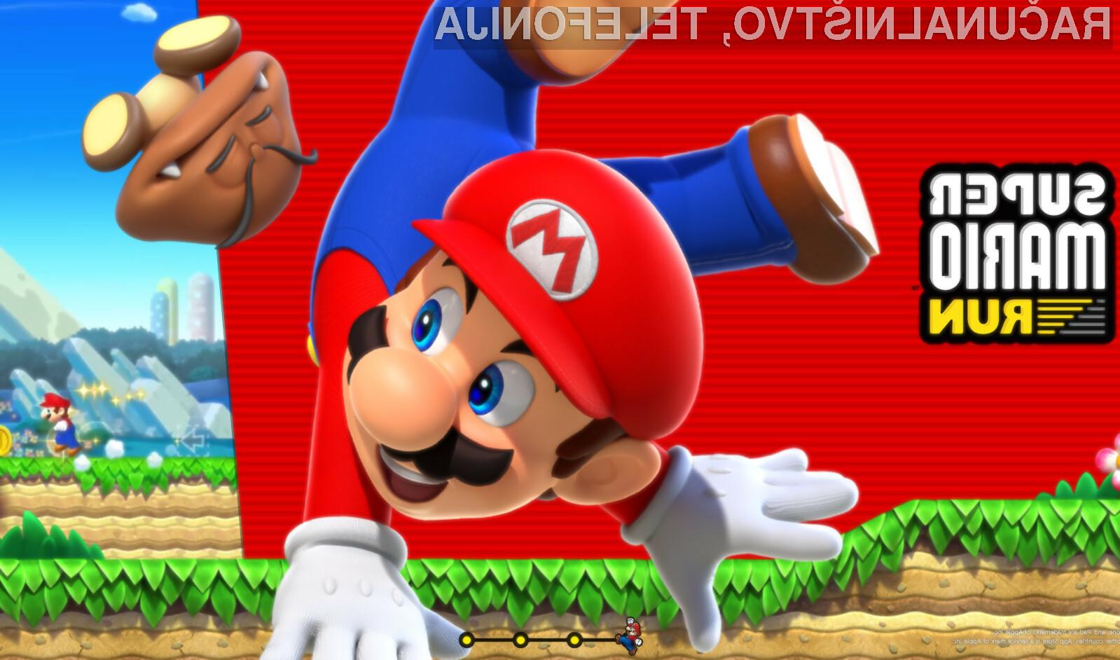 Pozor. Prihaja novi Super Mario za pametne telefone!