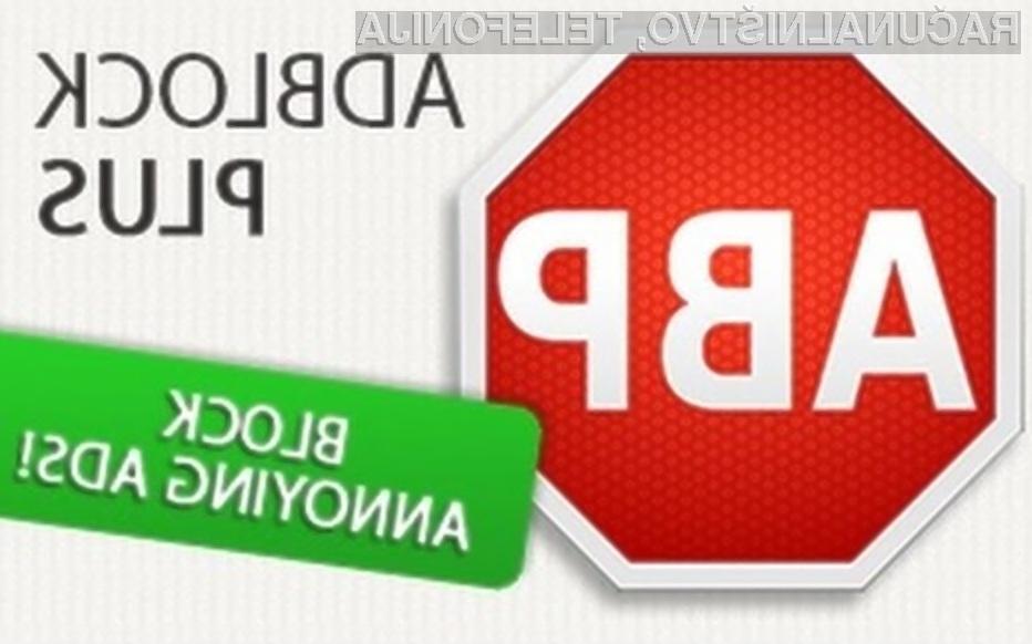 Novi Adblock Plus vas bo obvaroval pred prikritim rudarjenjem!