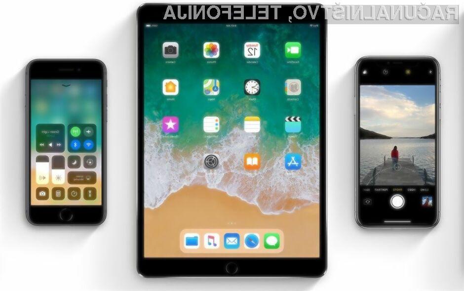 Novi iOS 11 bo dobesedno pomladil vašo mobilno napravo!