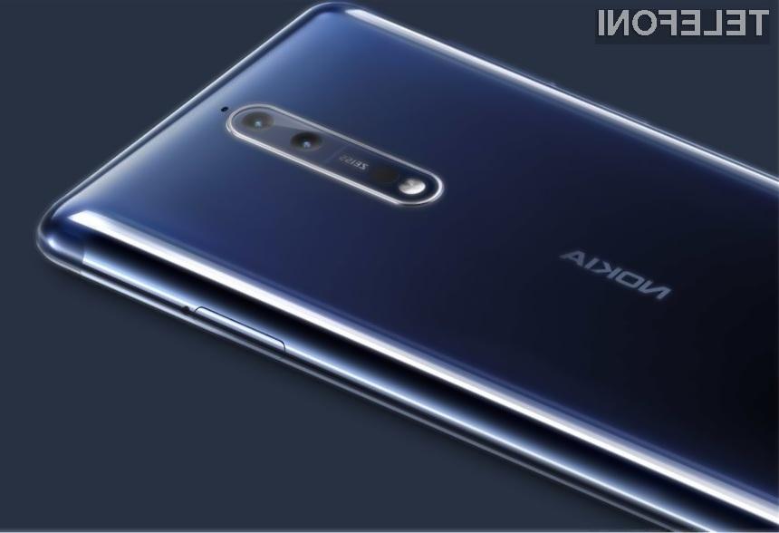 Odličen pametni mobilni telefon Nokia 8 je postal še zanimivejši!