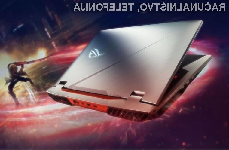 Zmogljiv prenosni računalnik Asus ROG CHIMERA nas pri igranju iger zagotovo ne bo pustil na cedilu!