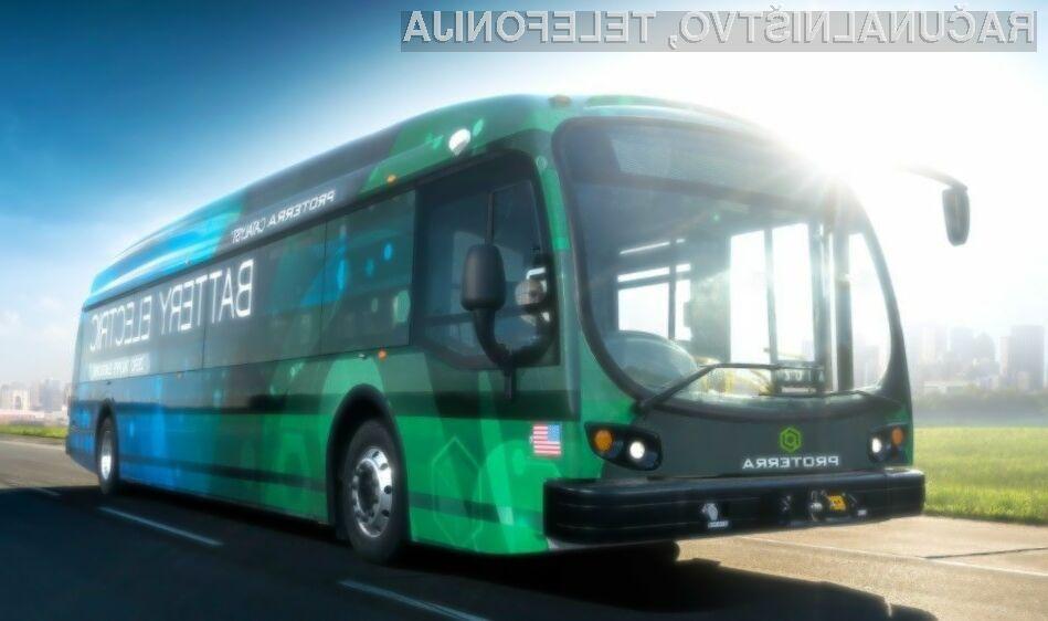 Električni avtobus Proterra Catalyst E2 Max je z enim polnjenjem prevozil razdaljo kar 1,772,2 kilometrov.