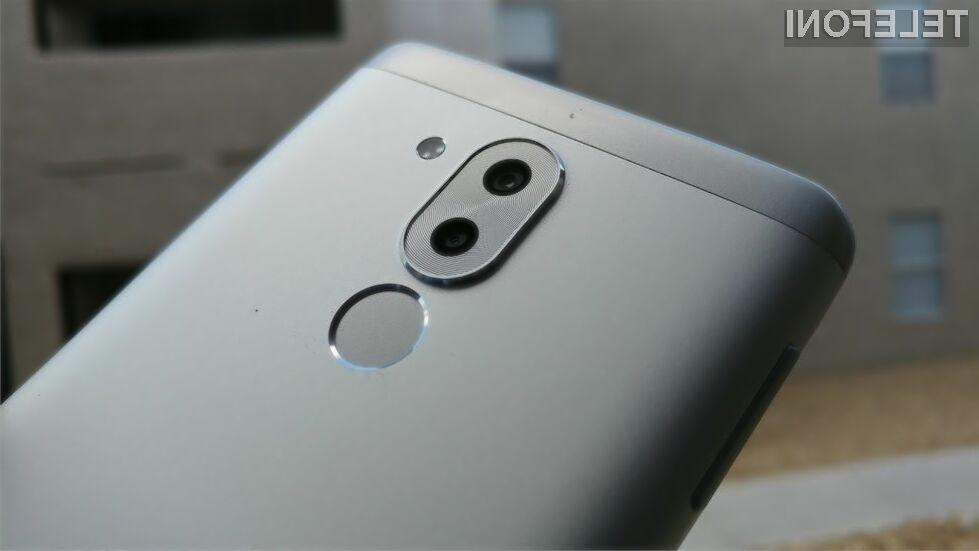 Pametni mobilni telefon Huawei Honor 7X bo za malo denarja ponujal veliko!