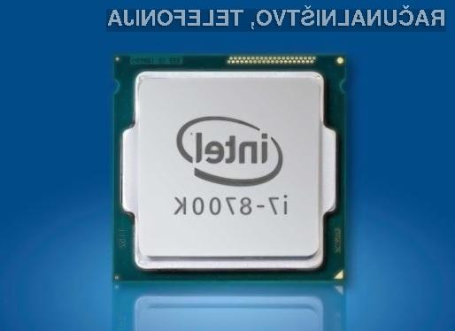 Vstopna različica procesorjev Intel Coffee Lake je opremljena s štirimi sredicami!