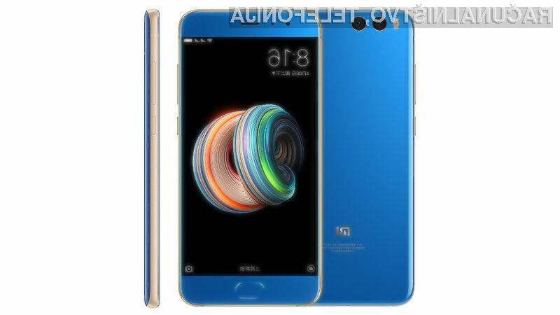 Pametni mobilni telefon Xiaomi Mi Note 3 bo zlahka kos tudi najtežjim nalogam.