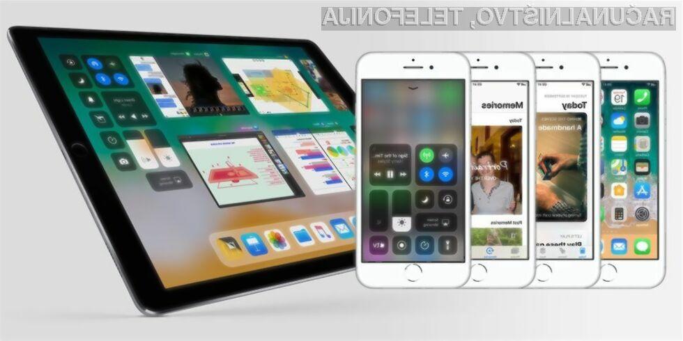 Težav z mobilnim operacijskim sistemom iOS 11 ni videti konca!