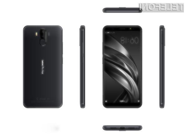 Pametni mobilni telefon Ulefone Power Max bomo lahko brez polnjenja uporabljali tudi več kot teden dni.