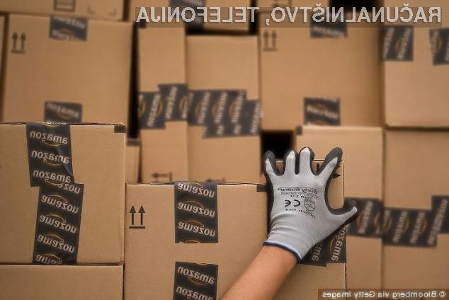 Amazon neprestano išče načine za varno dostavo paketov.