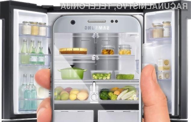 Pametni hladilni k podjetja Samsung bo zagotovo za vedno odpravili nakupovalne sezname!
