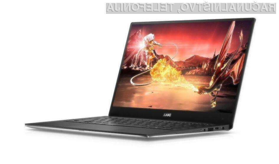 Prenovljeni prenosnik Dell XPS 13 je precej zmogljivejši od njegovega predhodnika.