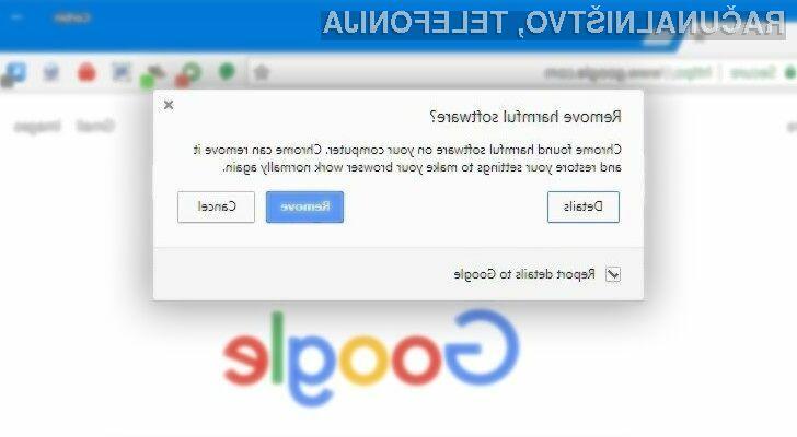 Varnostna funkcija Google Cleanup nas bo varovala pred spletno nesnago.