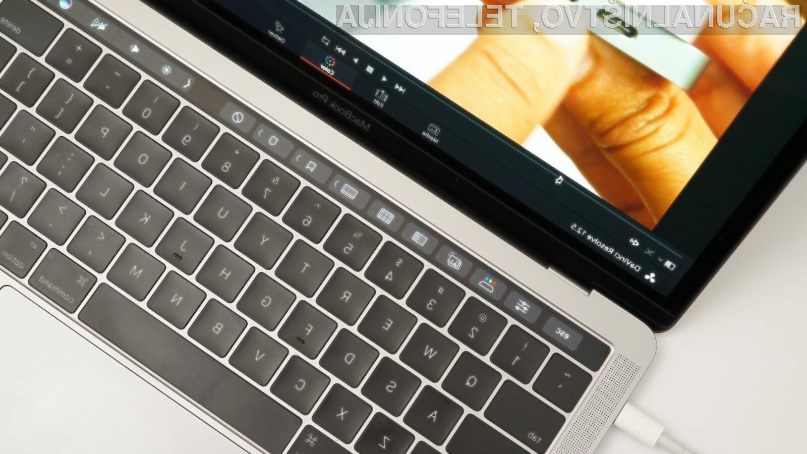 Apple naj bi že dalj časa vedel za težave s tipkovnico prenosnika MacBook Pro.