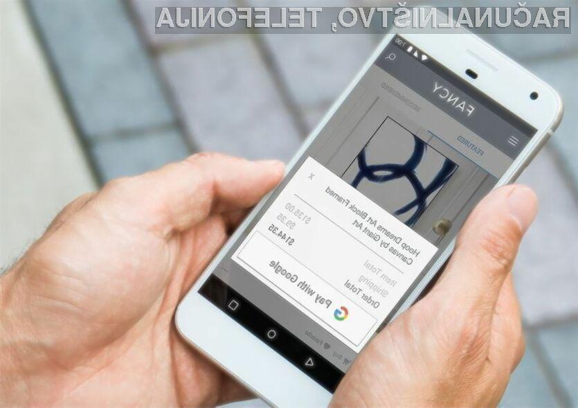 Storitev Pay with Google bo uporabnikom mobilnih naprav močno poenostavila spletno plačevanje.
