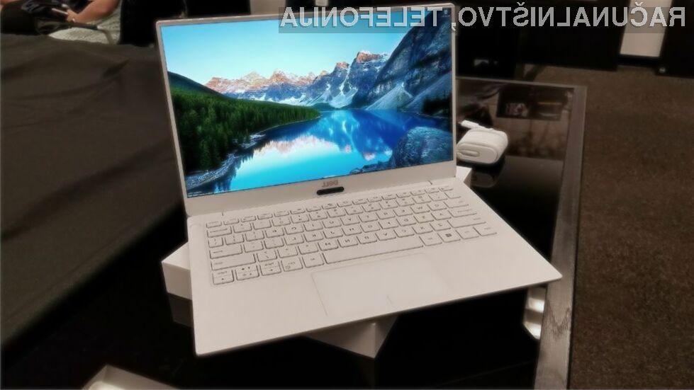 Novi prenosnik Dell XPS 13 2018 bo vsaj korak pred konkurenco!