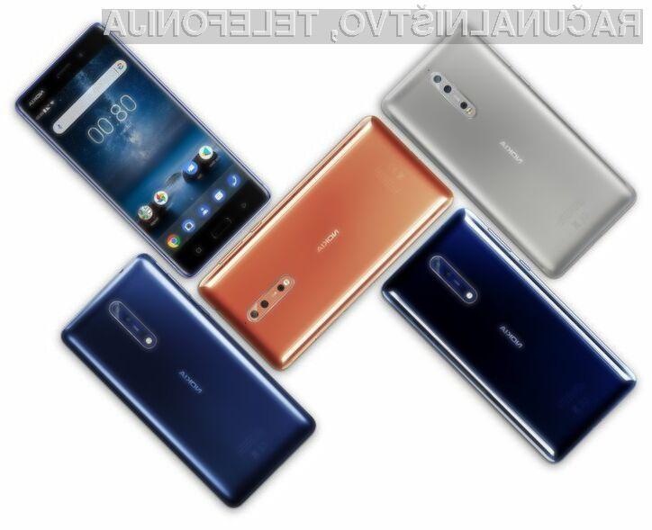 Nokia 8 se je izkazala za zelo trpežen mobilni telefon!