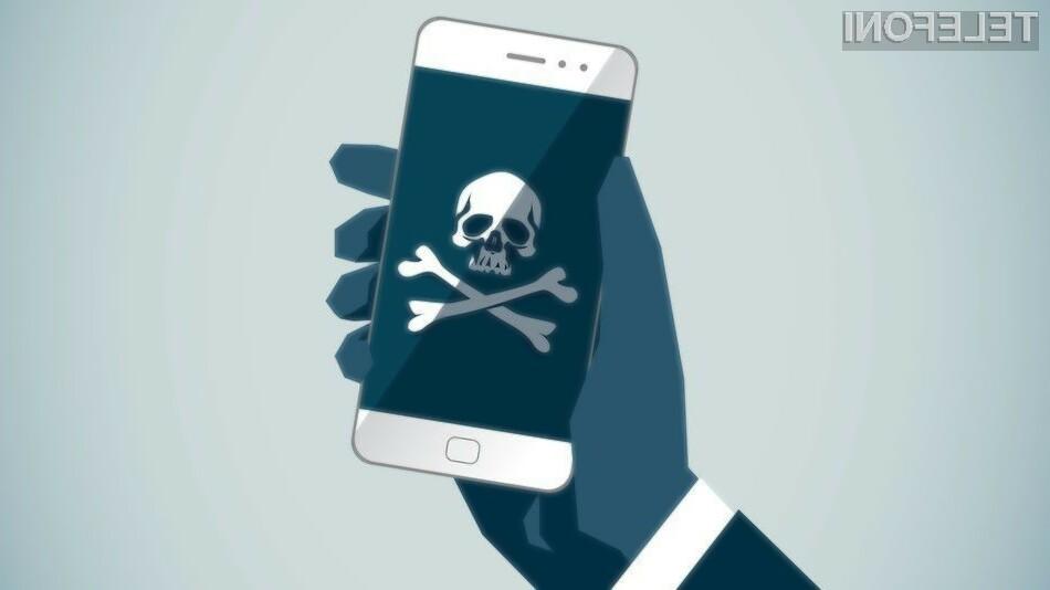 Izsiljevalske kode množično napadajo mobilne naprave!
