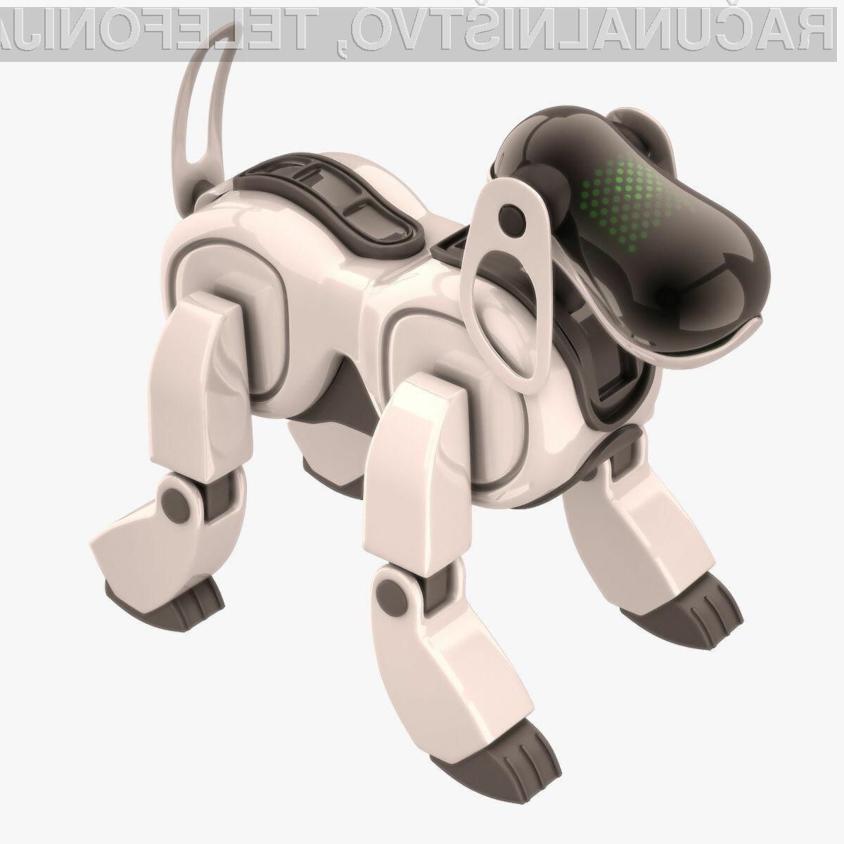 Novi robot podjetja Sony bo slonel na tehnologiji umetne inteligence.