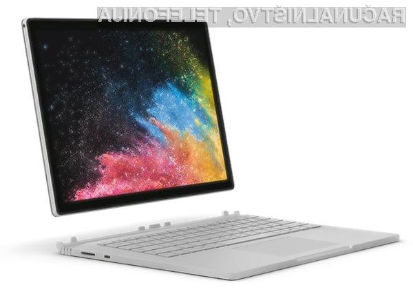 Novi Microsoft Surface Book 2 bo zlahka prepričala tudi zdaleč najzahtevnejše uporabnike.