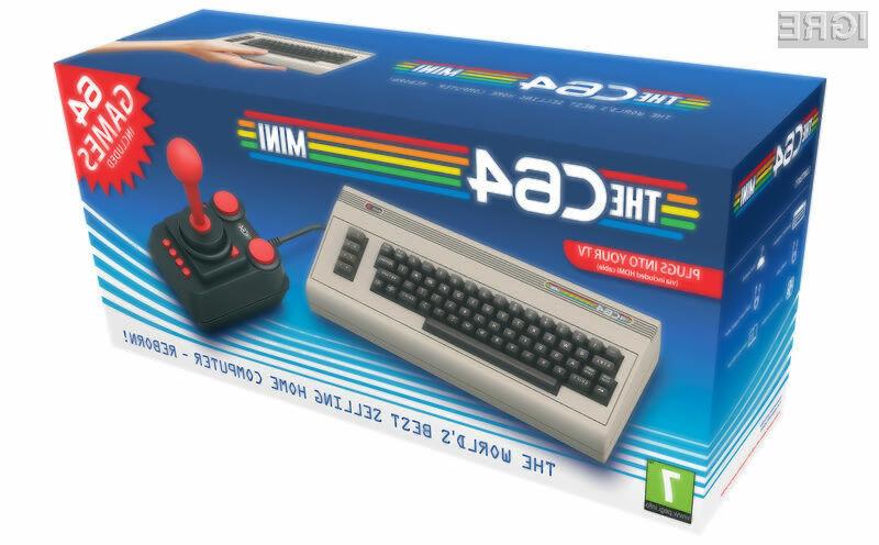 Za miniaturno igralno konzolo C64 Mini z retro igrami bo treba odšteti 80 evrov.
