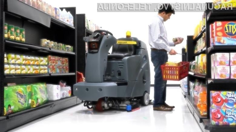 Robot čistilka EMMA podjetja Brain Corp. se je v praksi izkazal za zelo učinkovitega!