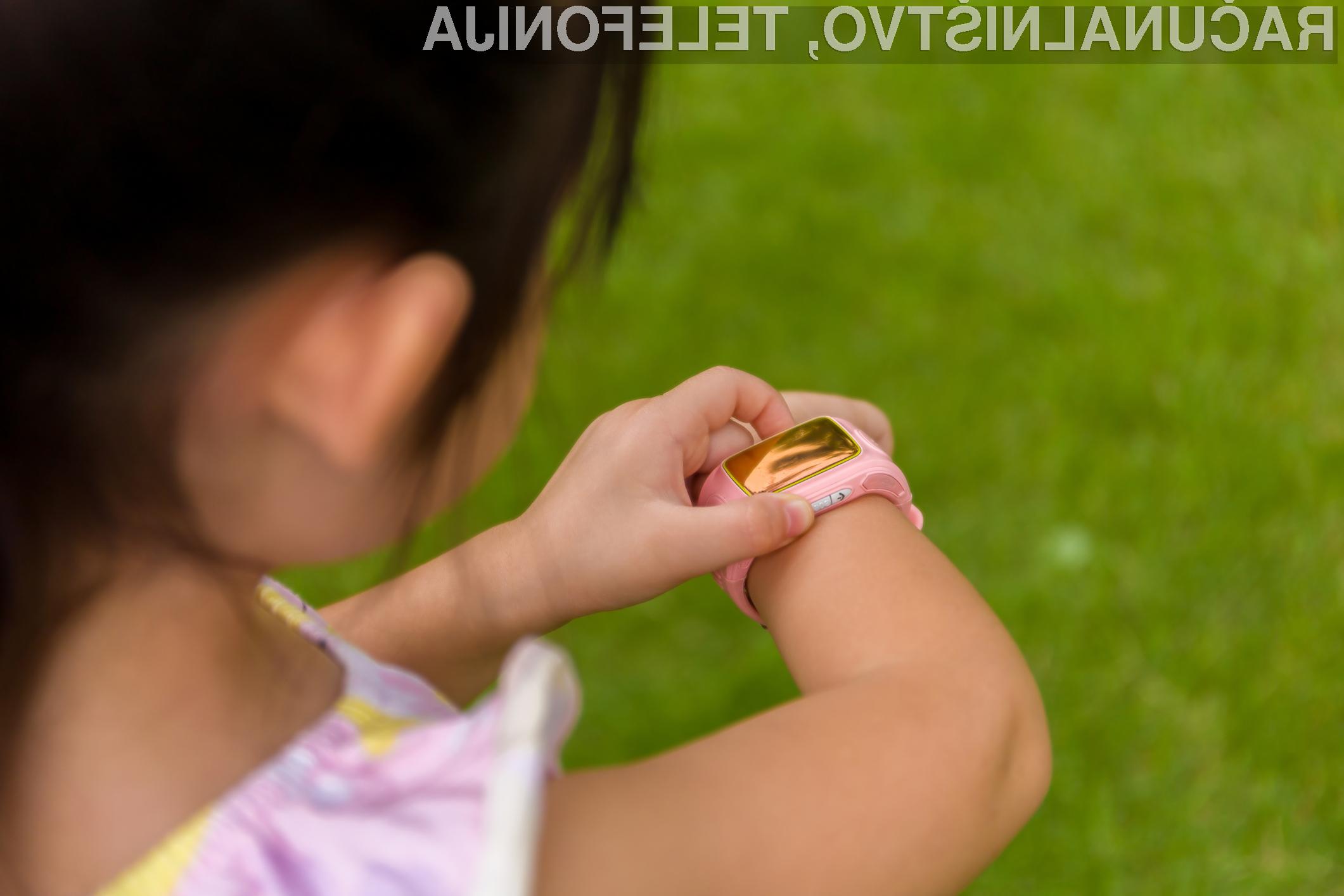 Pametne ročne ure za otroke so vse prej kot varne!