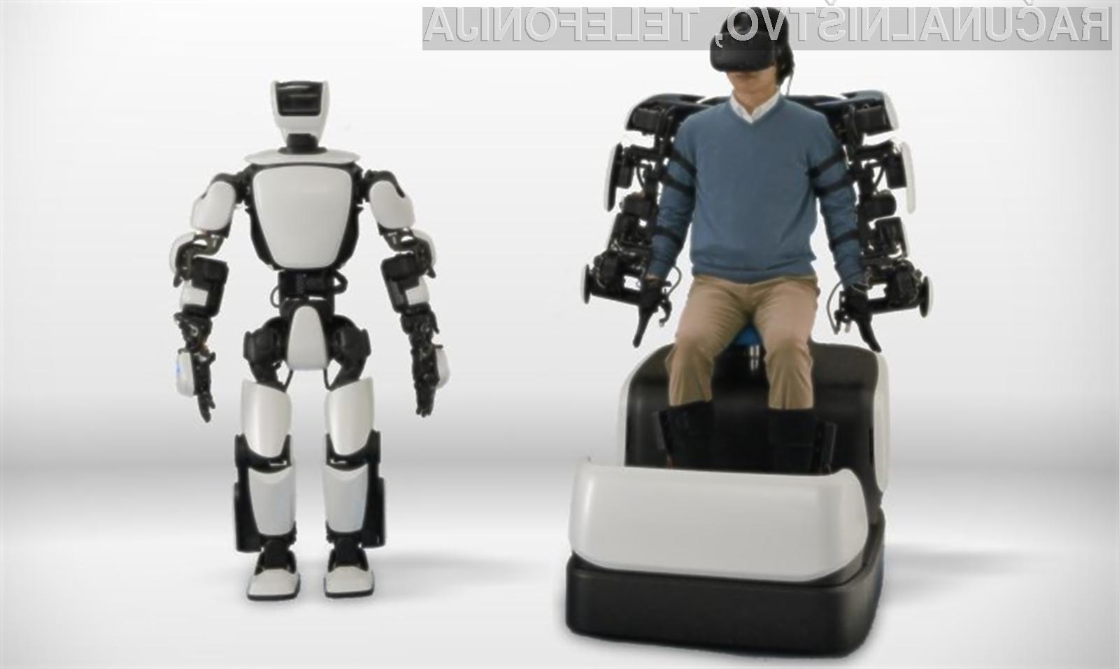 Robot T-HR3 podjetja Toyota lahko v celoti posnema človeške gibe!