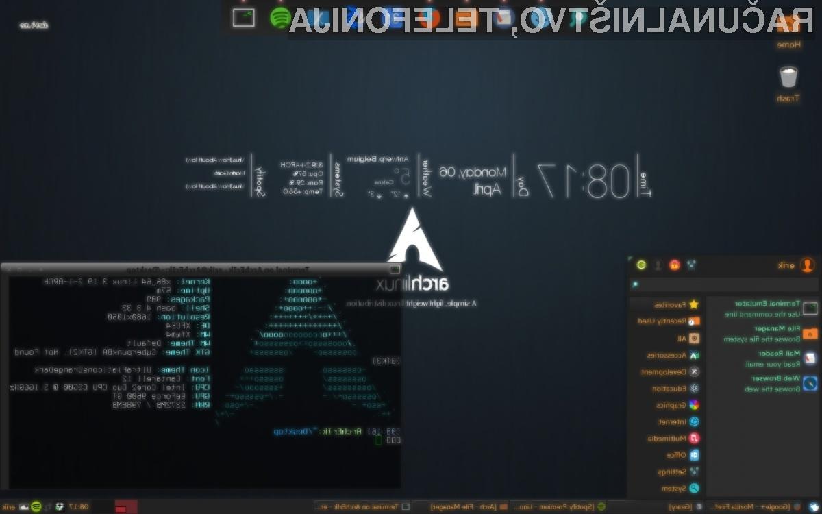Tudi Linux se vse bolj oddaljuje od 32-bitne tehnologije.