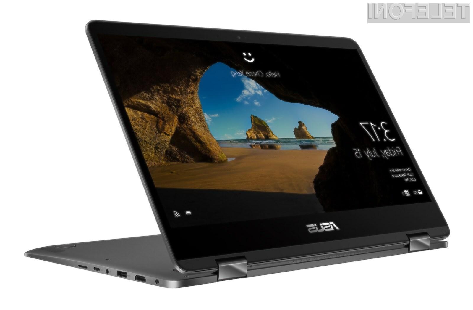 Prenosni računalnik z mobilnim procesorjem Snapdragon 835 naj bi kot prvo izdelalo podjetje Asus.