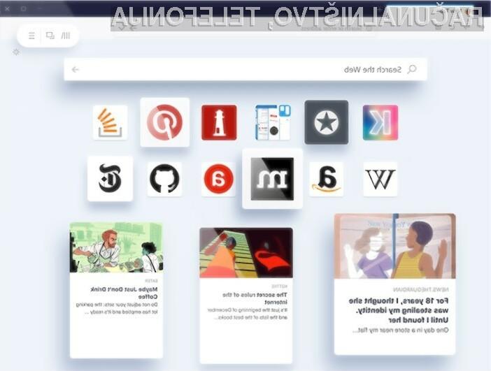 Novi spletni brskalnik Firefox vas bo zagotovo takoj navdušil!