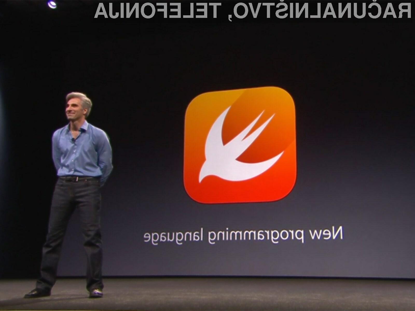 Operacijski sistem Google Fuchsia bo nudil podporo tudi za Applov programski jezik Swift.