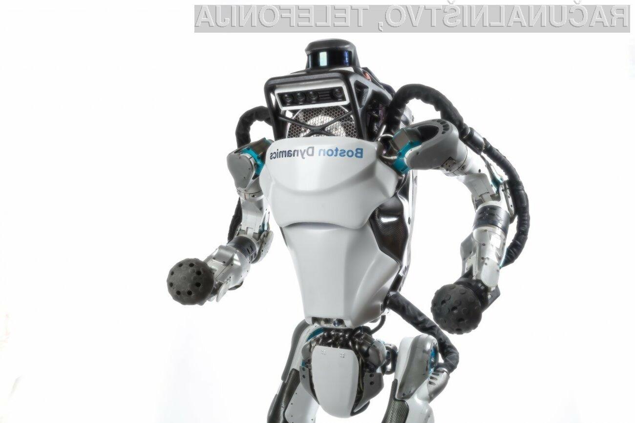 Robot Atlas lahko povsem samostojno naredi celo salto.