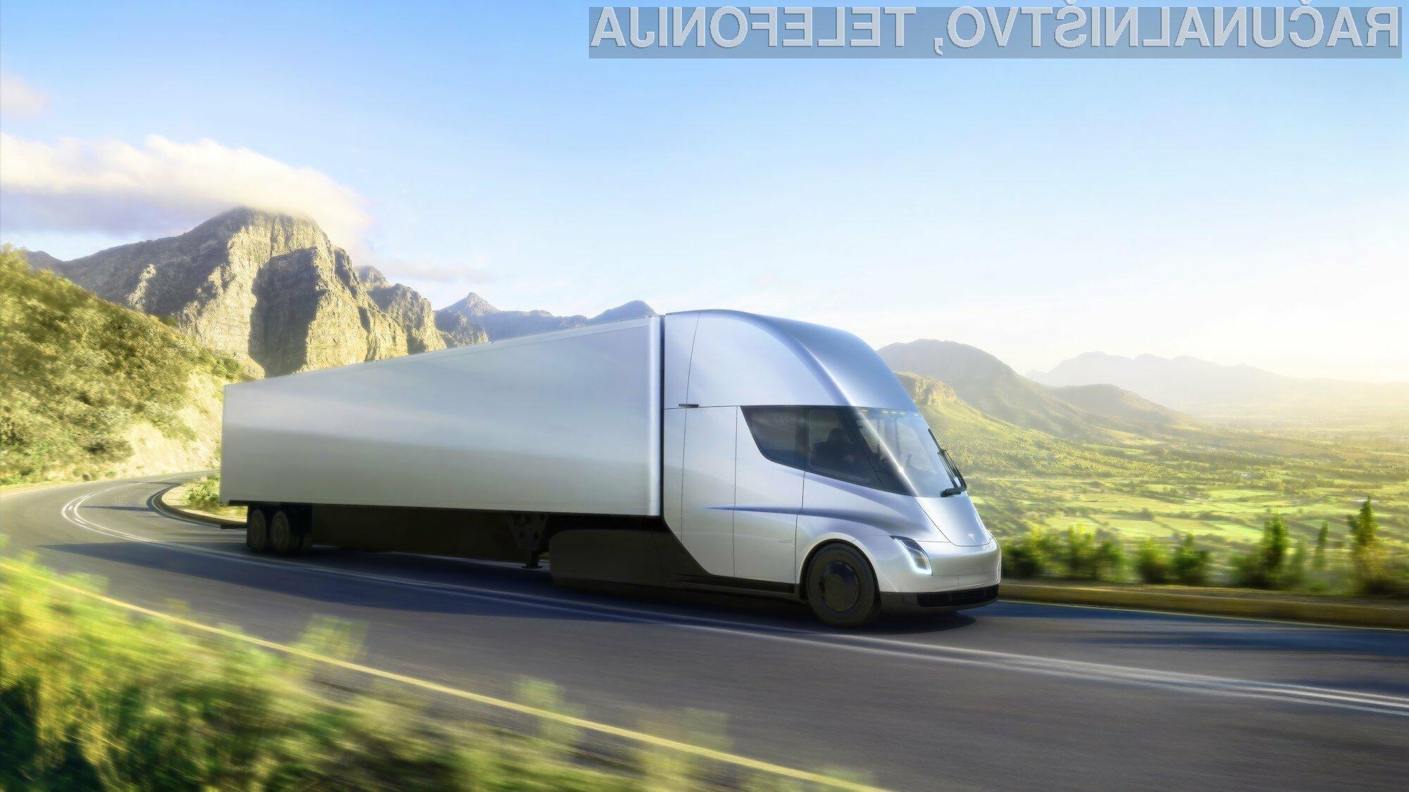 Prihodnost električnih tovornjakov je vsaj za zdaj precej negotova.