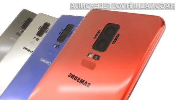 Pametni mobilni telefon Samsung Galaxy S9 bo prvi opremljen z naprednim procesorjem Exynos 9810.