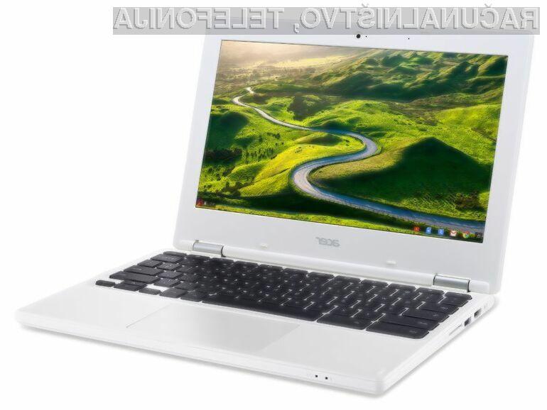 Novi prenosnik Chromebook bi lahko že bil opremljen z mobilnim procesorjem Qualcomm Snapdragon 845!
