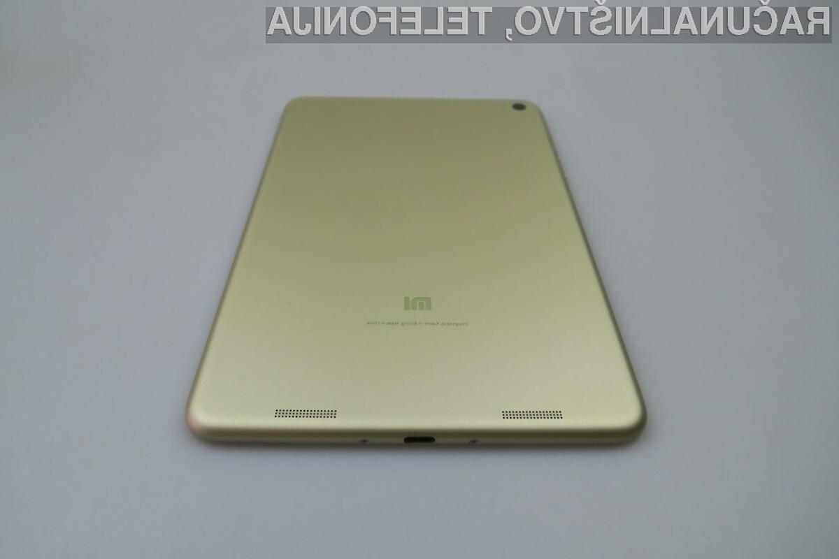 Podjetje Xiaomi bo moralo tablice Mi Pad v Evropi prodajati pod drugim imenom.