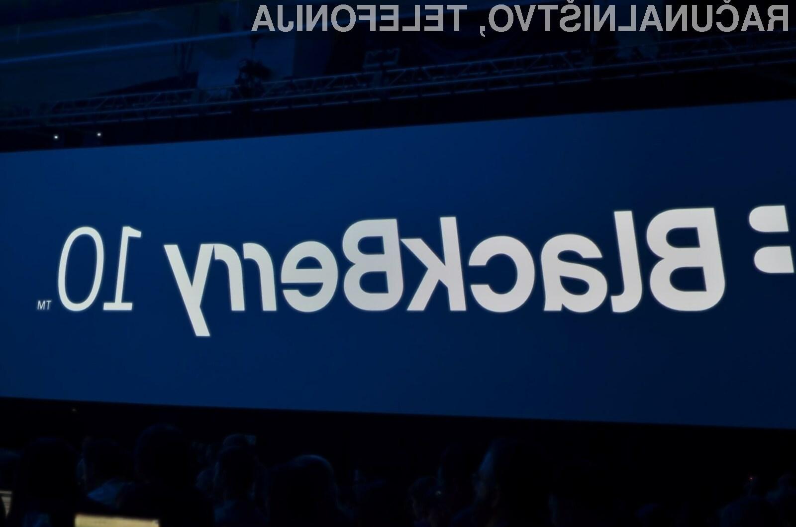 Starejši pametni mobilni telefoni BlackBerry bodo kmalu postal povsem neuporabni.