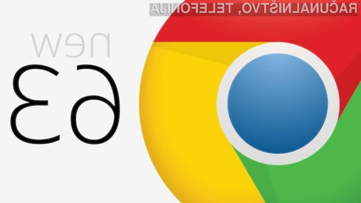Novi Chrome prinaša nekaj manjših a pomembnih izboljšav.