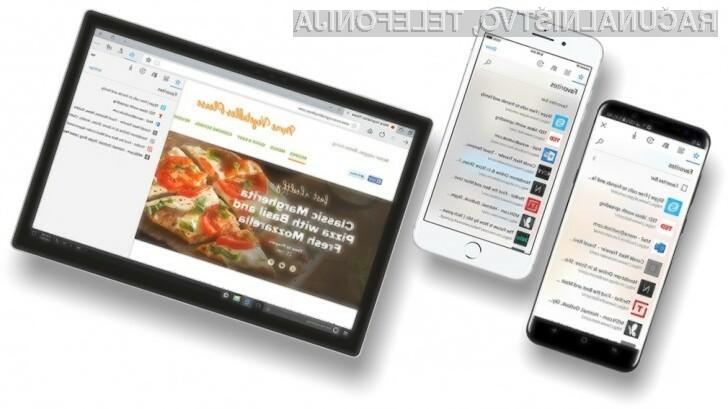 Novi Microsoft Edge za Android in iOS se obnese naravnost fantastično.