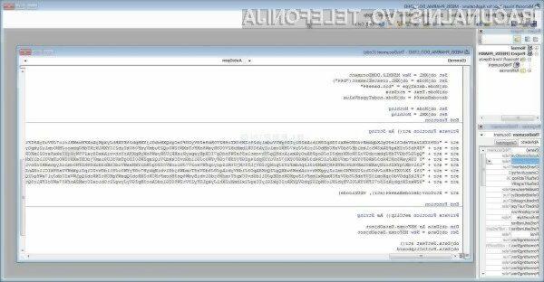 Nova izsiljevalska koda nas lahko zavede z besedilom v slovenskem jeziku.